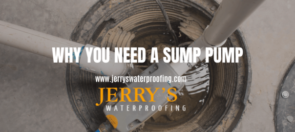 Why you need a sump pump