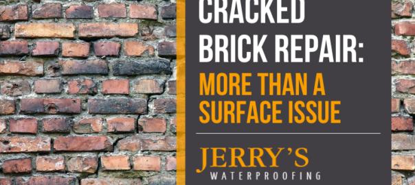 Cracked Brick Repair