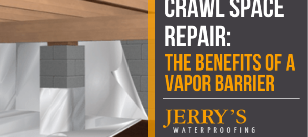 Crawl space repair: benefits of vapor barriers