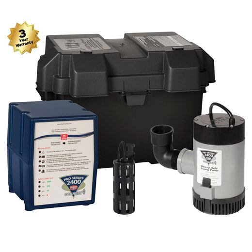 best battery back-up sump pumps in IA and NE