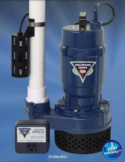 Sump pump installation in Iowa or Nebraska