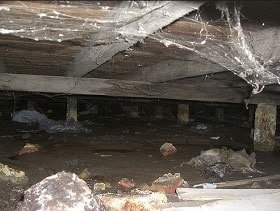 crawl space recovery and repair Iowa