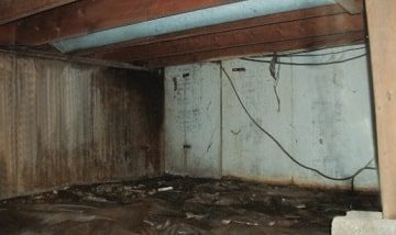 wet crawlspaces need crawlspace encapsulation in nebraska
